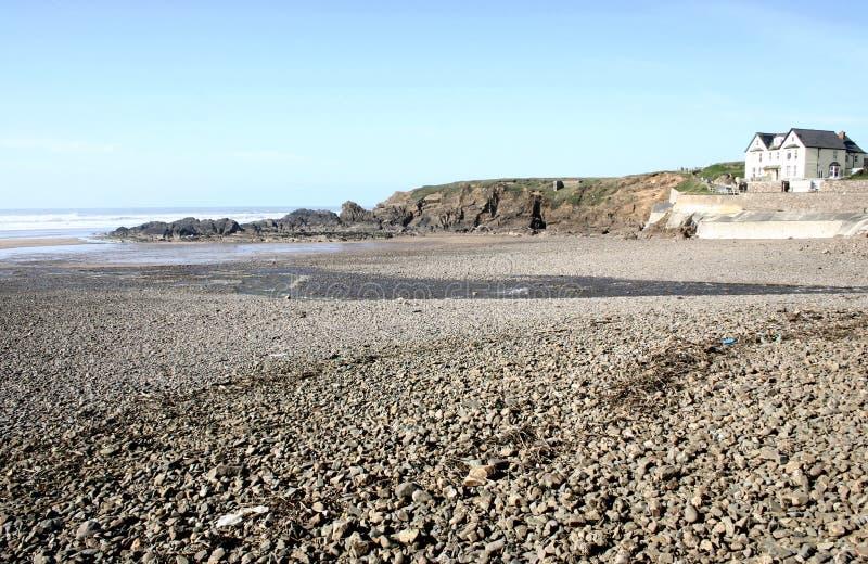 stoney na plaży obraz royalty free