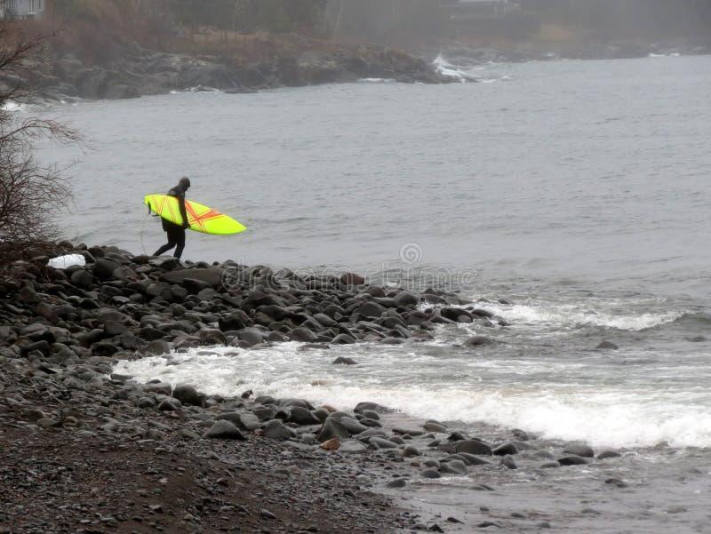 Stoney Point Surfer stock afbeelding