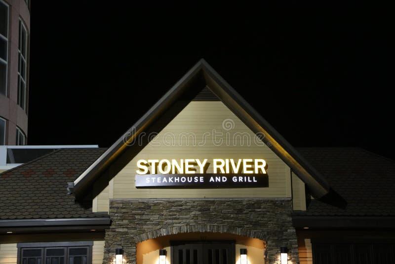 Stoney River Steakhouse und Grill lizenzfreie stockfotografie