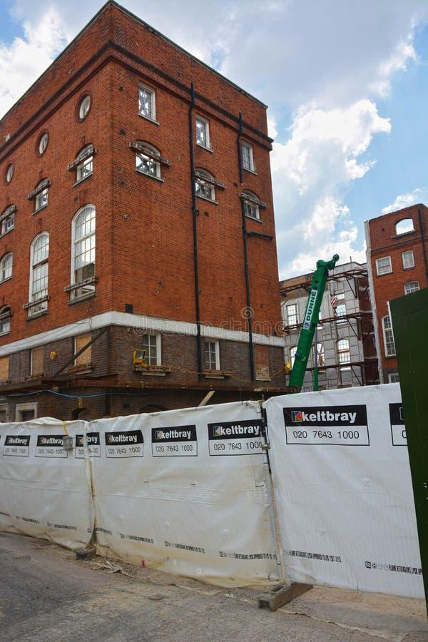 Stoney St Project, Southwark Londra Keltbray fotografia stock libera da diritti