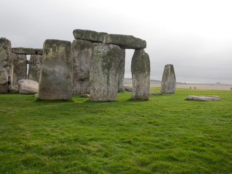 Stonhenge,站点在英国 库存图片