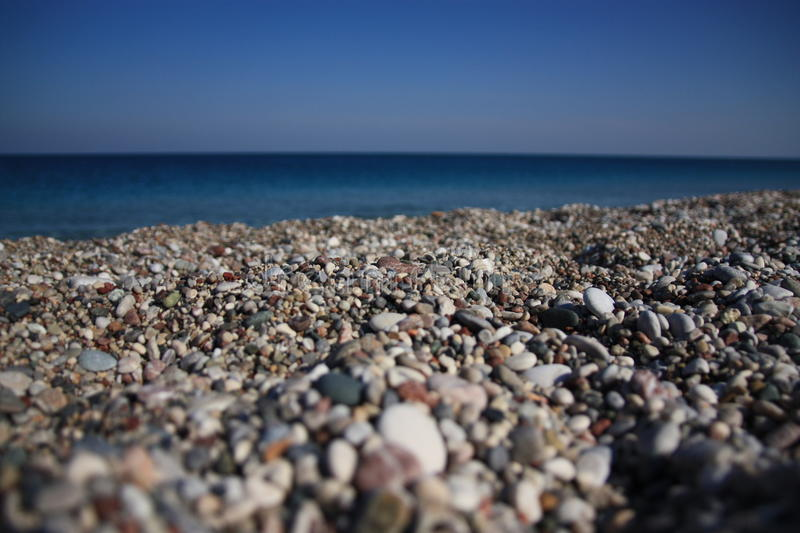 Stony beach stock photos