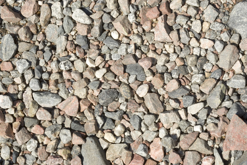 Stony ground. On coast of lake royalty free stock photography