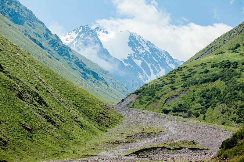 Download Stony Road And White Mountain Peak Stock Photo - Image: 35298870