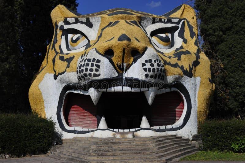 Download Stony Tiger Head stock photo. Image of funny, tiger, kiosk - 29130278