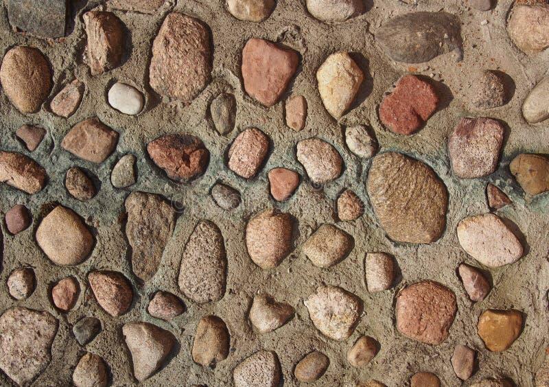 Stony Wall royalty free stock image