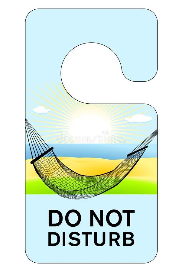 Stoor niet stock illustratie