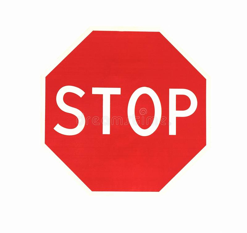 Download Stop stock photo. Image of white, isolated, warning, information - 11463392