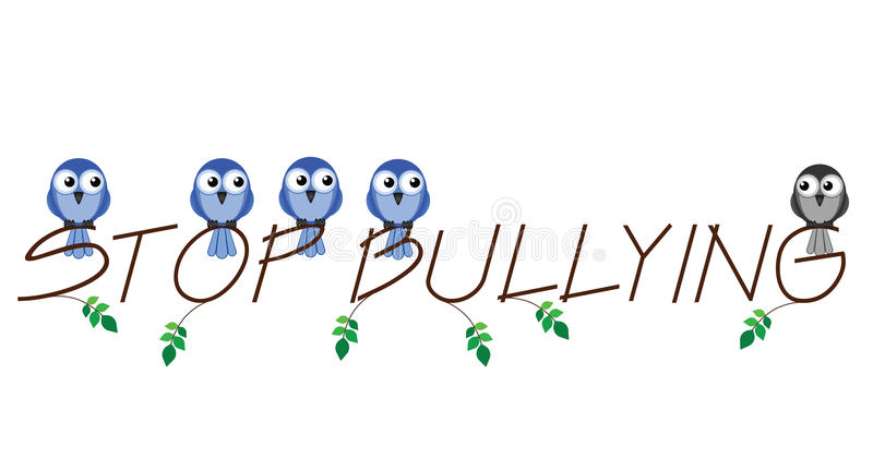 Download Stop bullying stock vector. Image of intimidation, harass - 25231075