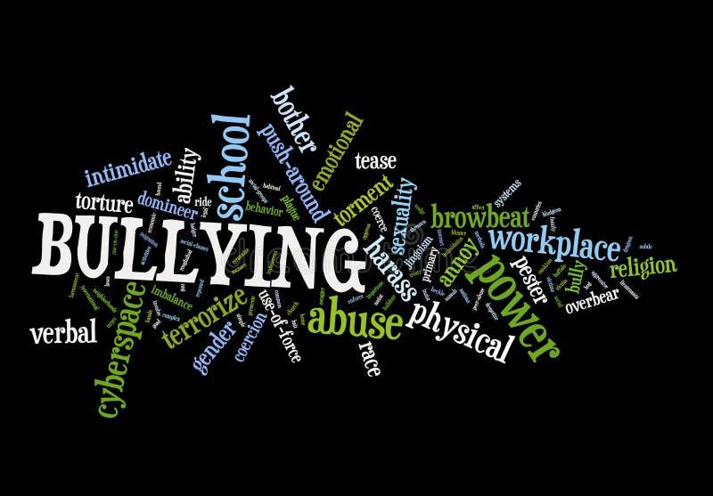 Bullying stock illustration