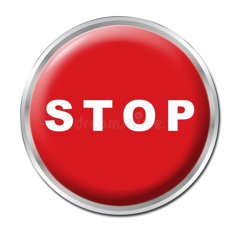 Stop Button stock photos
