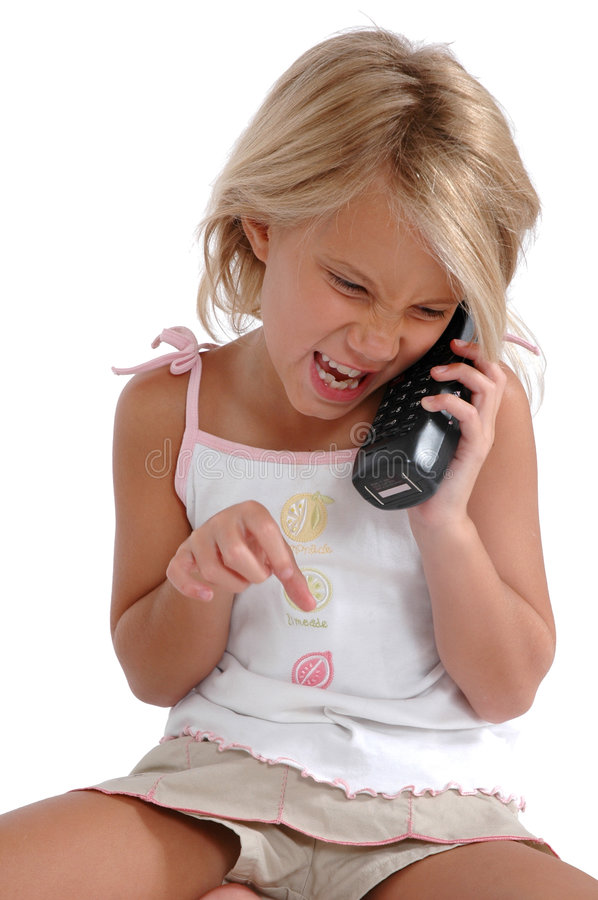 Stop Calling Me! royalty free stock image