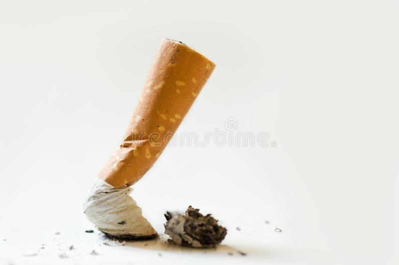 Stop cigarette royalty free stock images