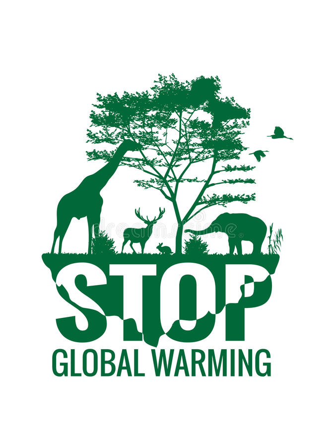 stop global warming Global warming refers to an increase in the average temperature of the earth as a result of the greenhouse effect, in which gases in the upper atmosphere trap solar radiation close to the planet's surface instead of allowing it to dissipate into space.