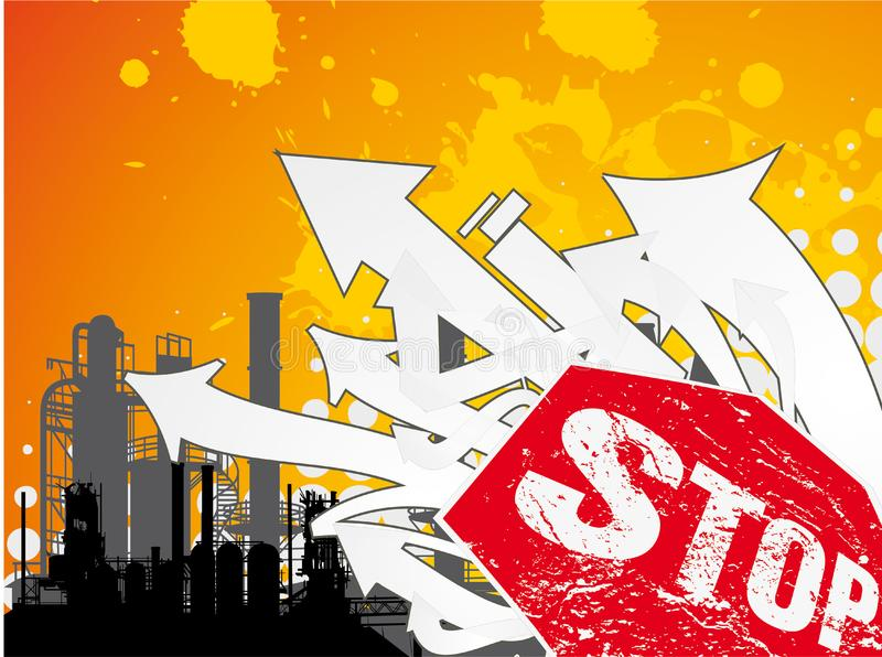 Download Stop industry stock illustration. Image of sign, stop - 8001064