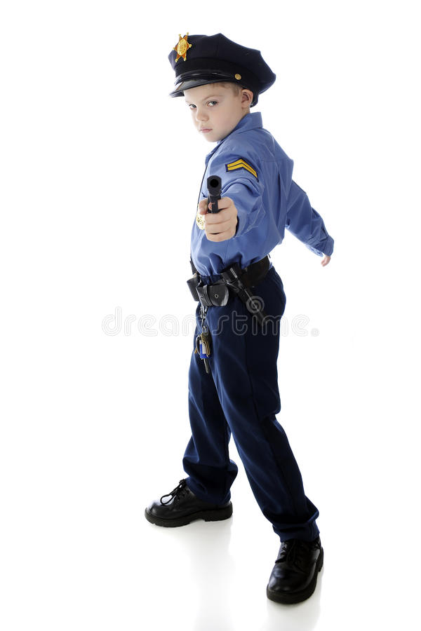 Stop! In the Name of the Law! stock photography