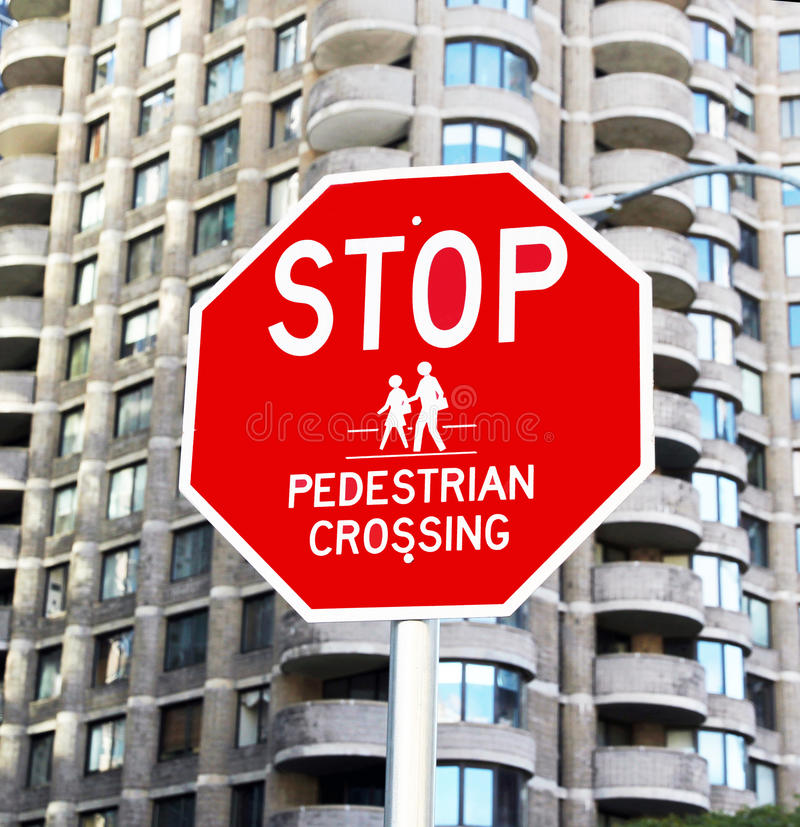 Download Stop for Pedestrians stock photo. Image of attention - 21919370