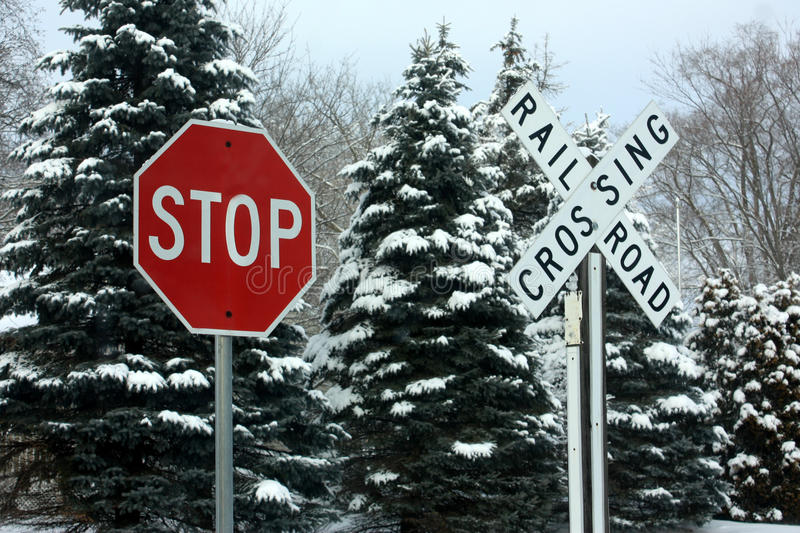 Download Stop - Railroad Crossing stock photo. Image of crossing - 29286928