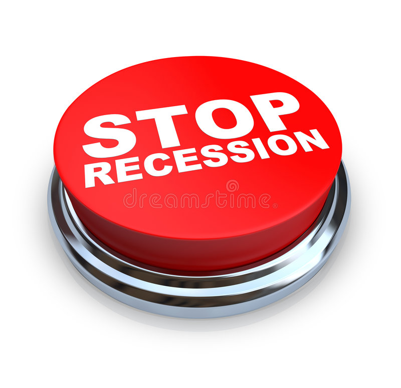 Download Stop Recession - Button stock illustration. Image of down - 8396842