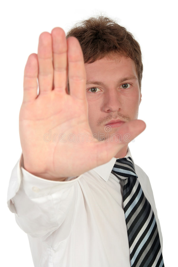 Download Stop Right There stock image. Image of gesturing, white - 979659