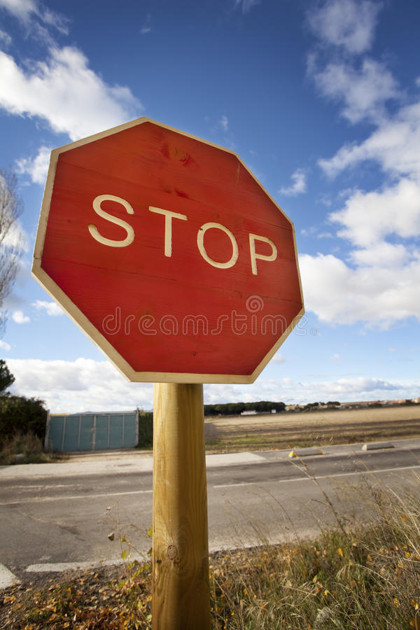 Download Stop Road Signal stock photo. Image of symbol, signal - 28070142