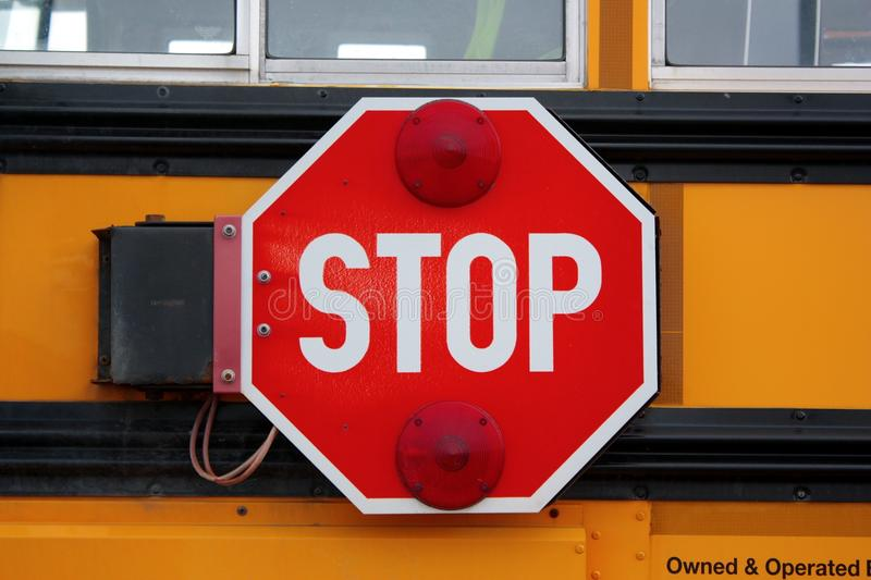 Download Stop sign stock photo. Image of sign, school, signage - 23715012