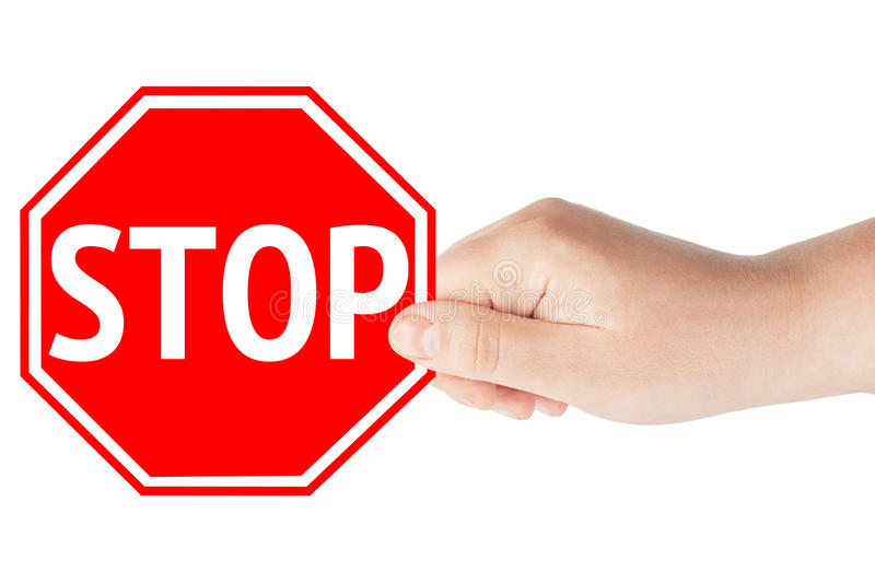 Download Stop Sign stock photo. Image of interrupt, deny, decline - 23939268