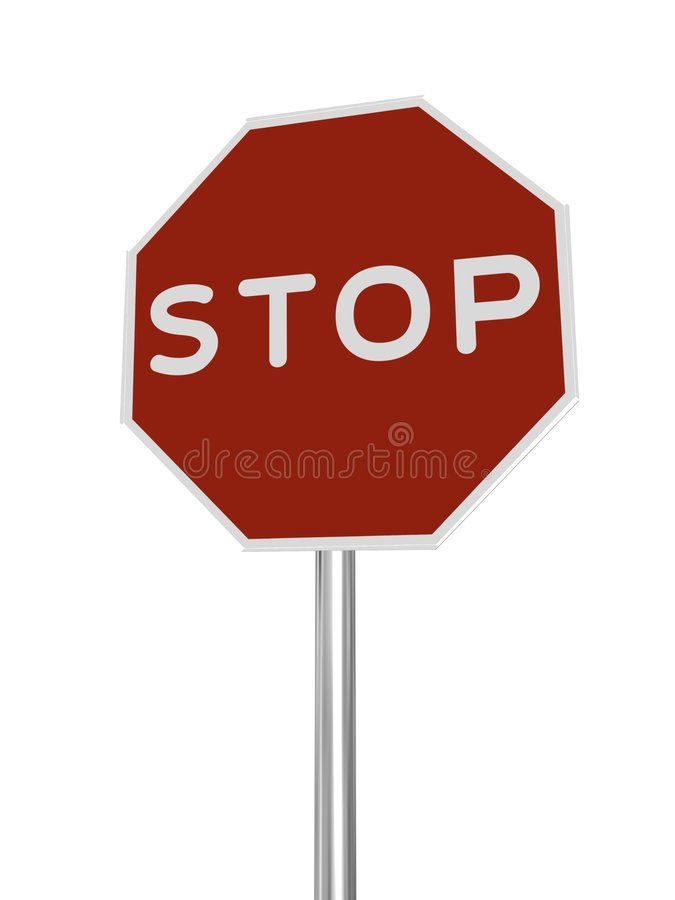 Free STOP Sign Stock Photography - 3360082