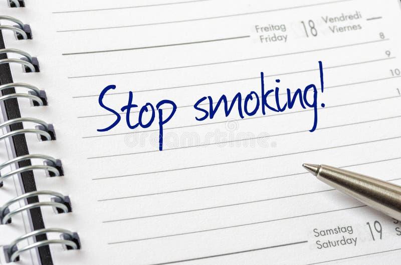 Stop smoking royalty free stock photos