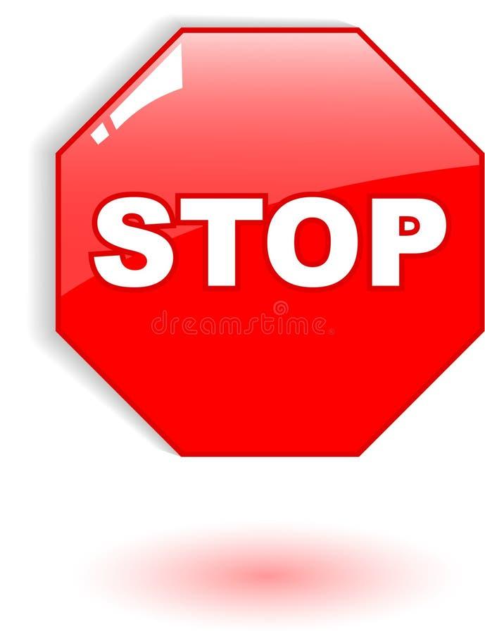 Download Stop symbol stock vector. Image of alertness, security - 9441946