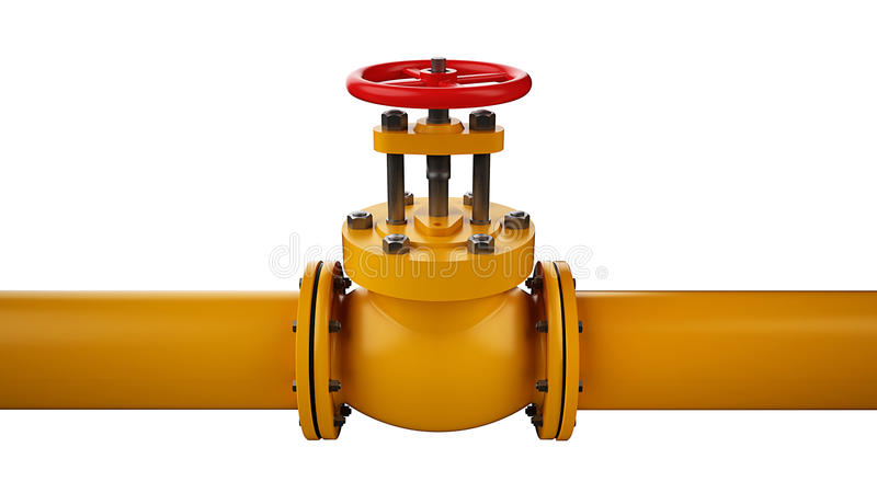 Download Stop valve and pipe stock illustration. Image of pipe - 37668582
