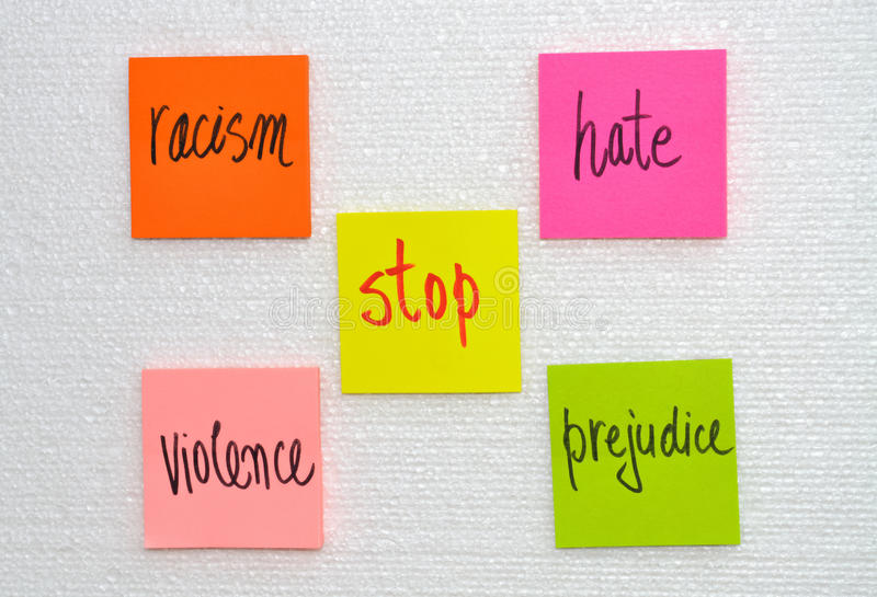 Stop violence royalty free stock images