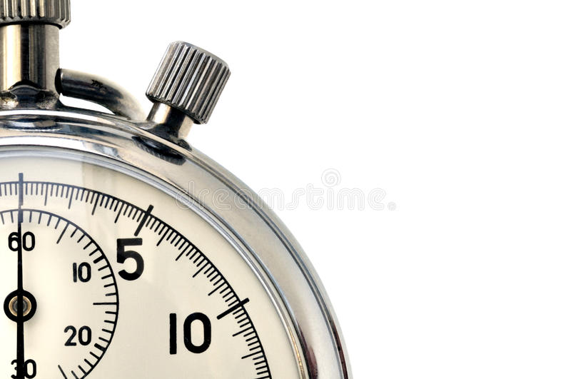 Stop-watch royalty free stock photography