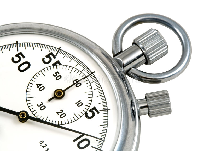 Stop-watch stock images