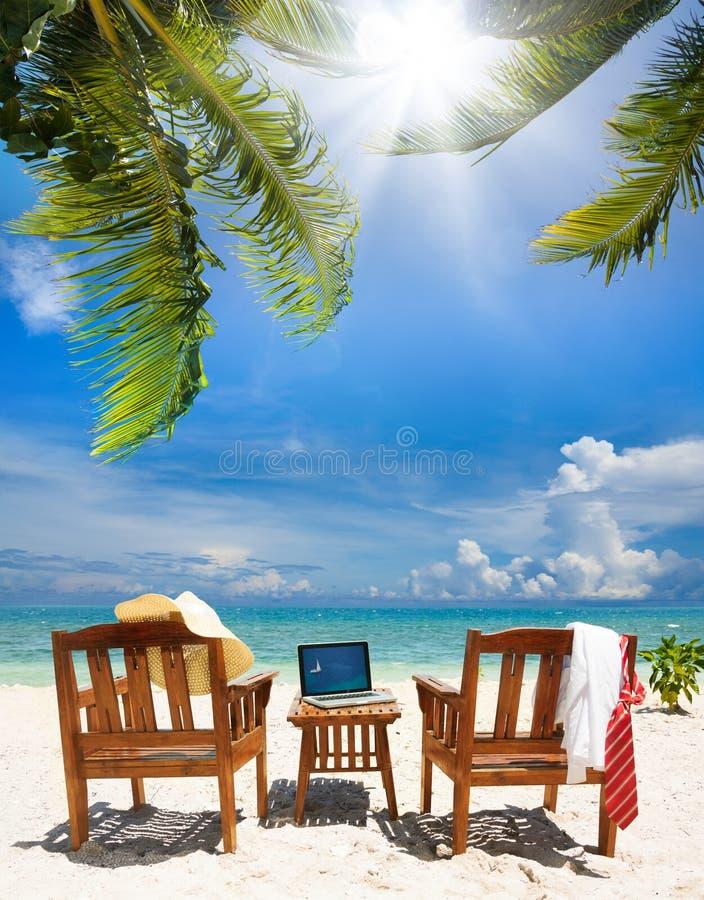 Stop working, start relax stock photo