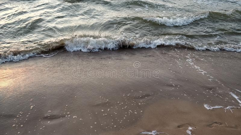 Stopped wave royalty free stock photo