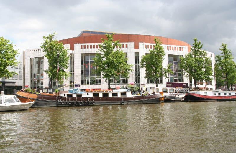 Stopera Amsterdam immagini stock libere da diritti