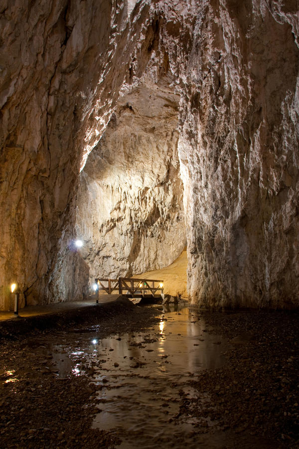 Stopica Höhle stockfotos
