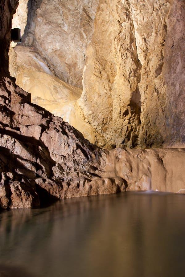 Stopica Höhle stockbild