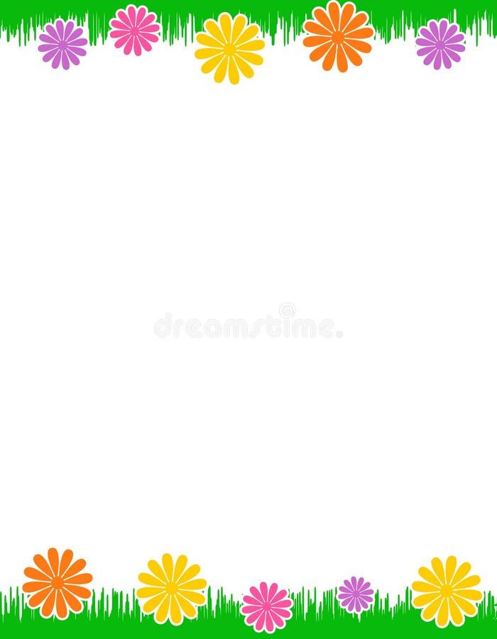 stopka kwiecisty chodnikowiec ilustracji