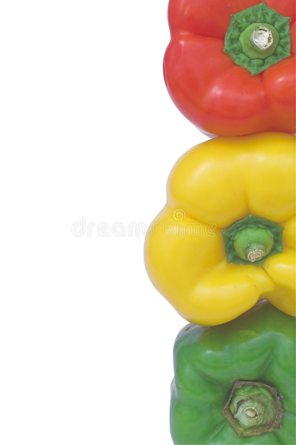 Free Stoplight Bell Peppers Stock Photos - 2933793
