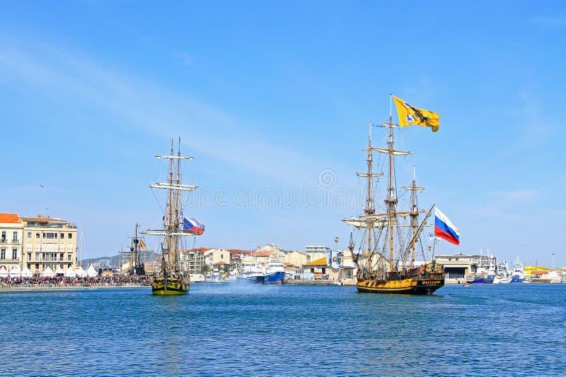 Stopover in Sete – Maritime Traditions Festival stock photo