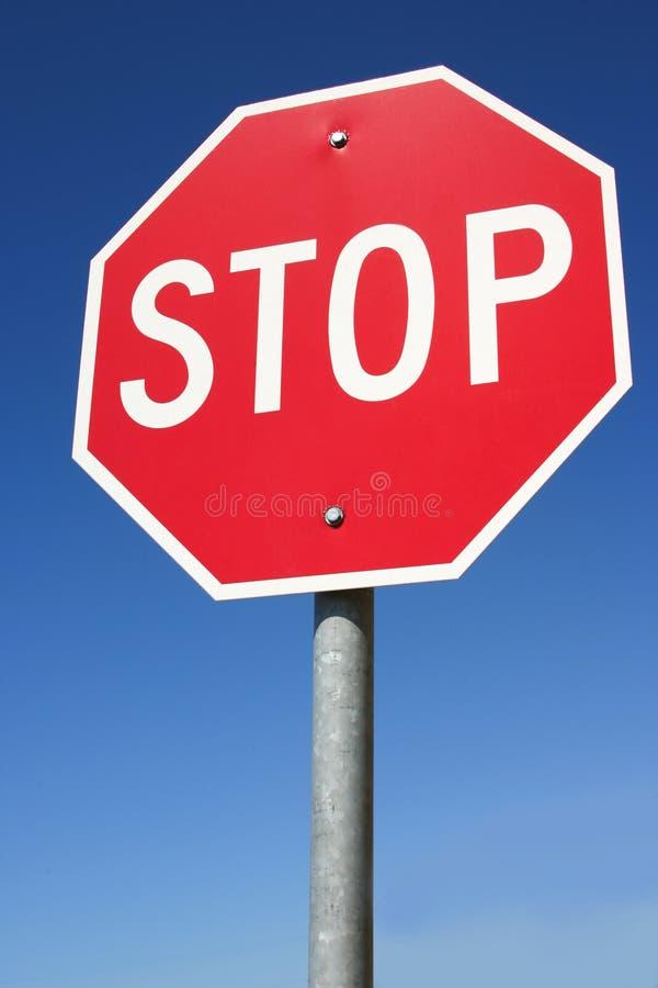 Stopp Royaltyfri Fotografi