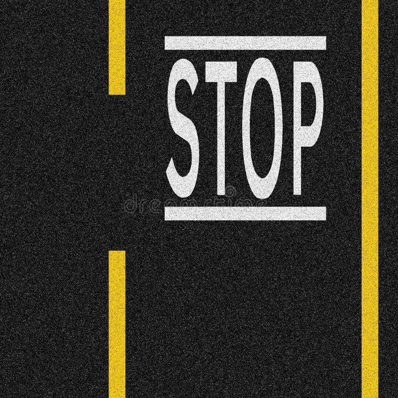 stopp vektor illustrationer
