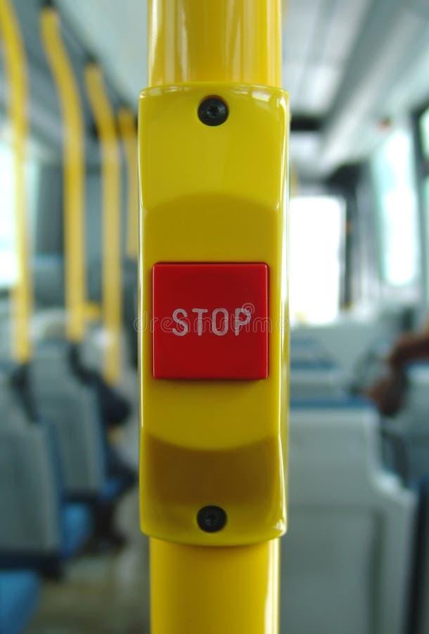 STOPP-Taste lizenzfreie stockfotos