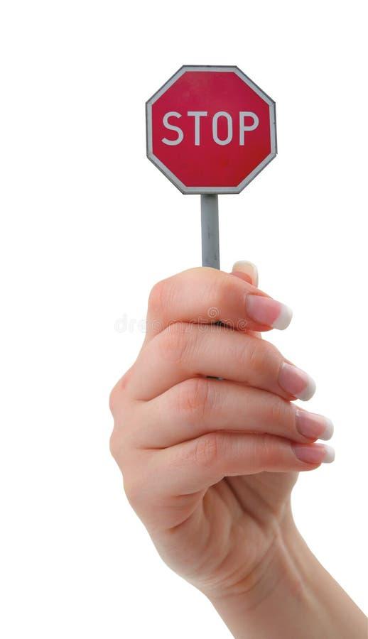 stoppa royaltyfria bilder
