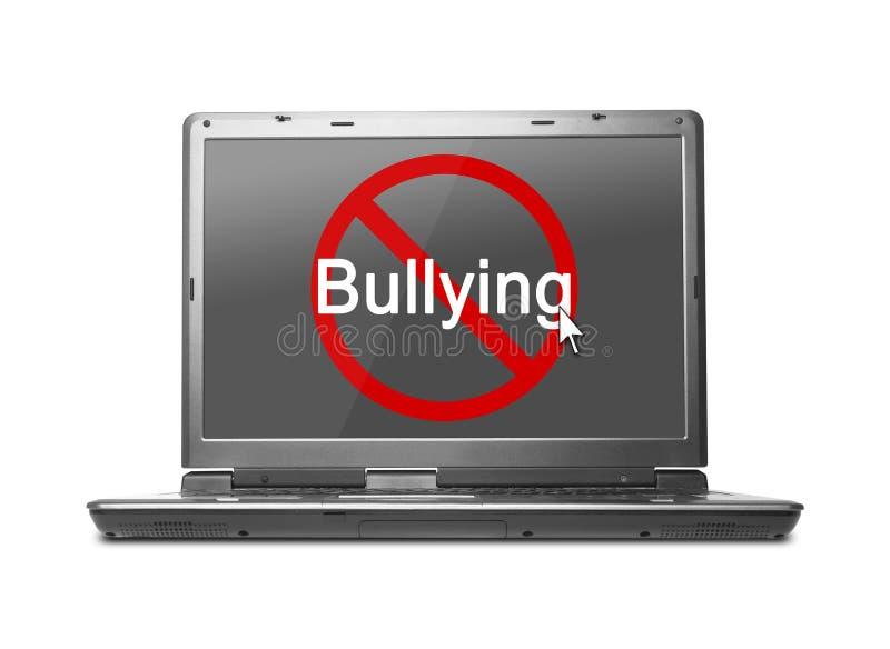 Stoppa internetpennalismen arkivbild