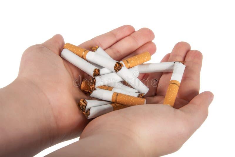 Stoppa röker arkivfoto