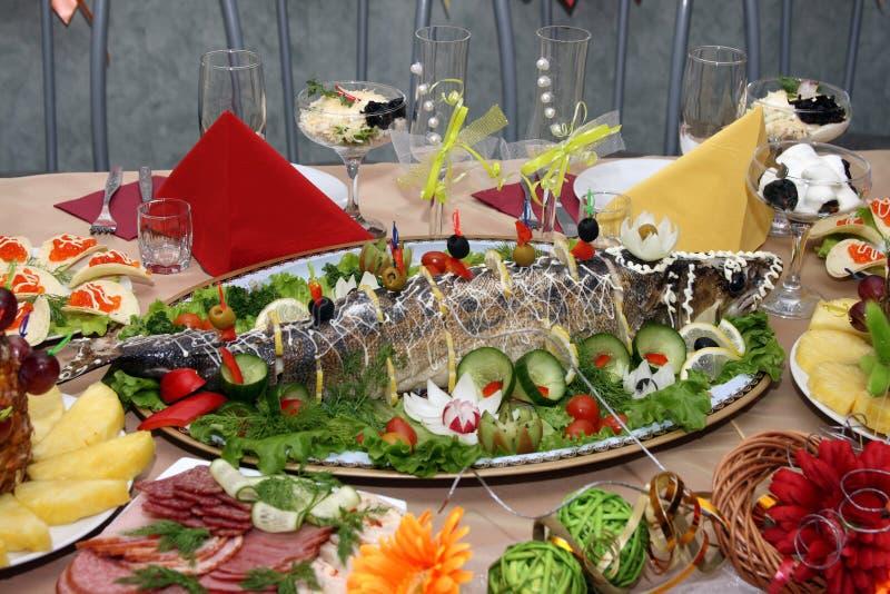 stoppad fisk royaltyfria bilder