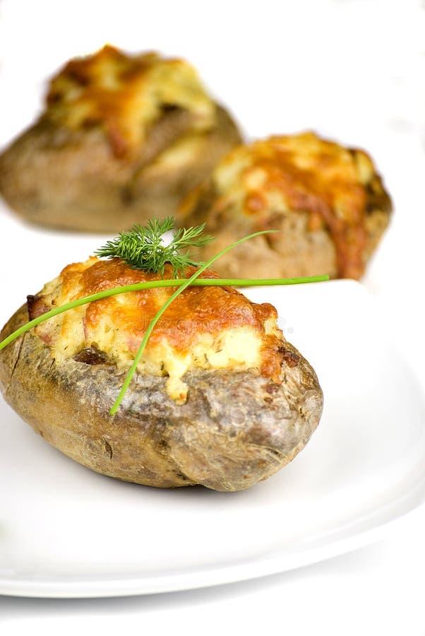 stoppade potatisar arkivbilder